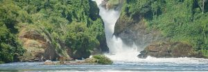 The Great Murchison Falls in Uganda