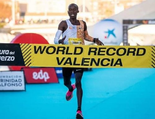 Joshua Cheptegei Upheld The Uganda Flag High As He Set A New 10km World Record At The Valencia Trinidad Alfonso-Uganda Safari News